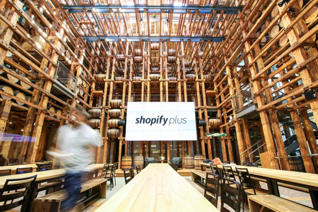 Canadian tech wunderkind Shopify has offices in three Ontario cities including their newest build in Waterloo.